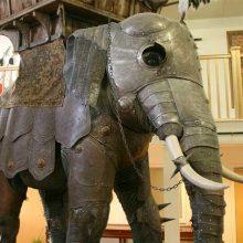 Три доспеха для боевых слонов