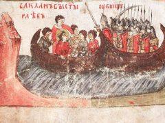 Как князь Семен Иванович в воде бился