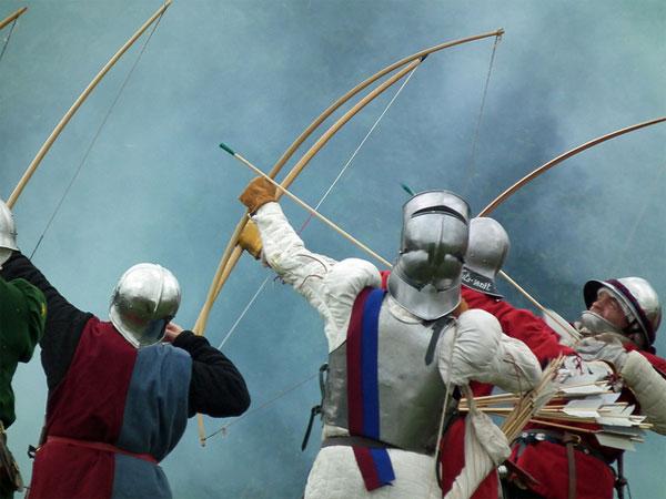 Виды травм в средние века_Креси