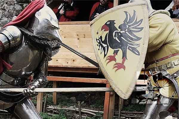 Виды травм в средние века в поединке