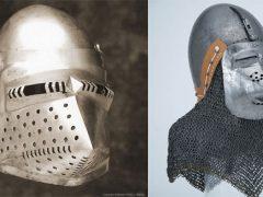 Шлем бацинет (2): железное лицо войны