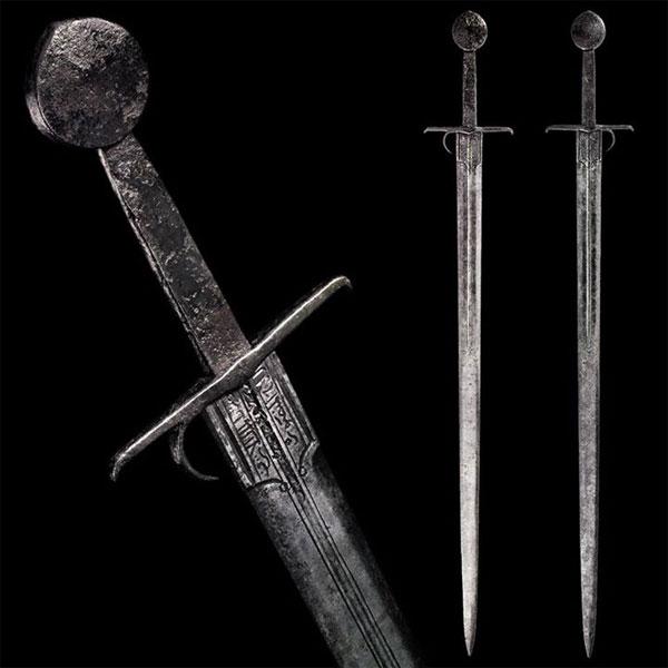 другая гарда меча с кольцом