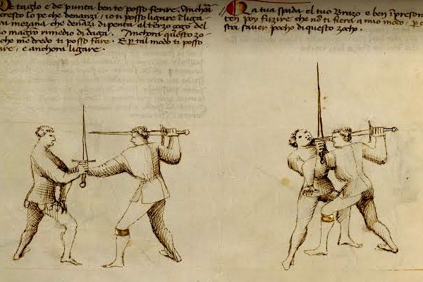 меч тип XVII_фехтование