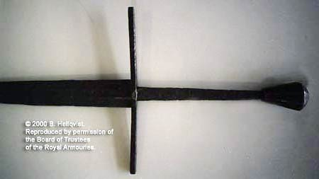 меч тип XVII из Темзы