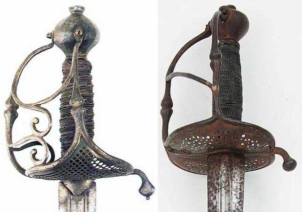 скьявона_003_валлонская шпага и траурный меч