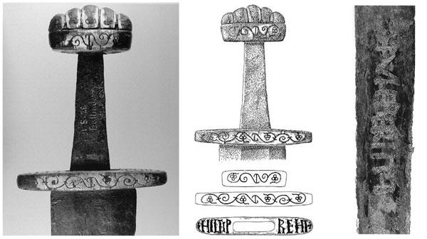 Древний меч из Ирландии