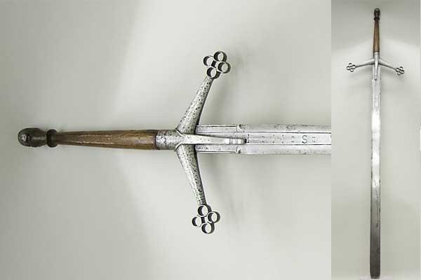 Шотландский меч клеймор из Нью-Йорка