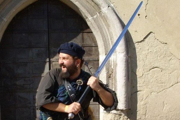 Шотланлдский меч клеймор