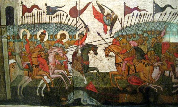 Битва Новгород против Суздаля