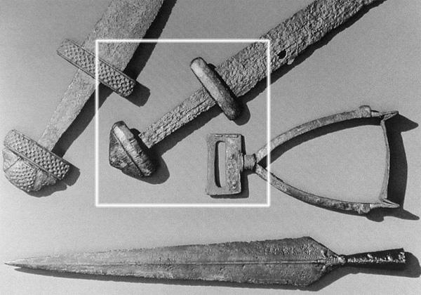 однолезвийный меч из Дании