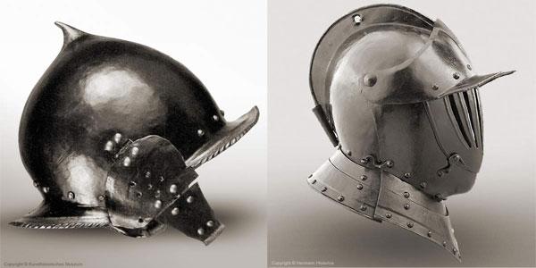 Шлем бургиньот - 01-11