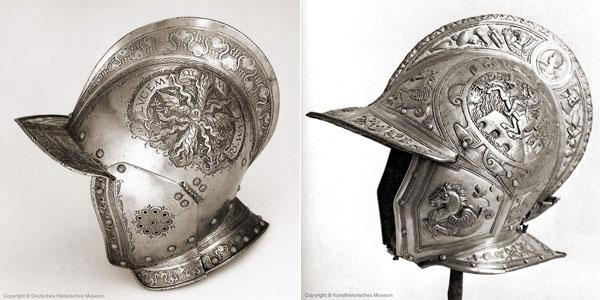 Шлем бургиньот - 04-03