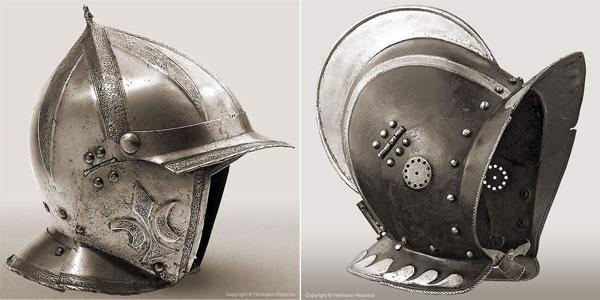 Шлем бургиньот - 07-05