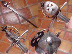 «Корзинчатые» мечи (1): шпаги, палаши, синклер