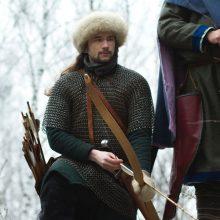Наконечники древнерусских стрел: срезень, бронебойный и двурогий