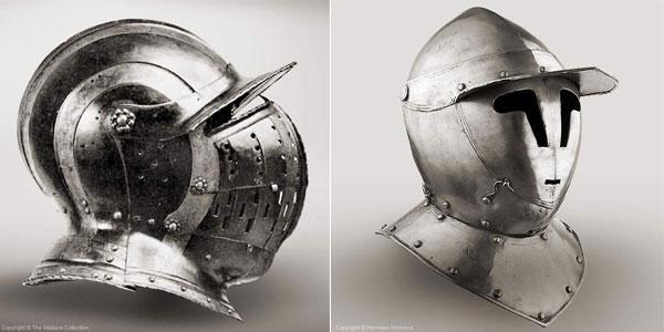 Шлем бургиньот - 13 - 14