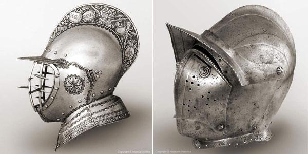 шлем бургиньот - 17 -18