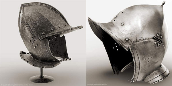 Шлем бургиньот - 21 - 22