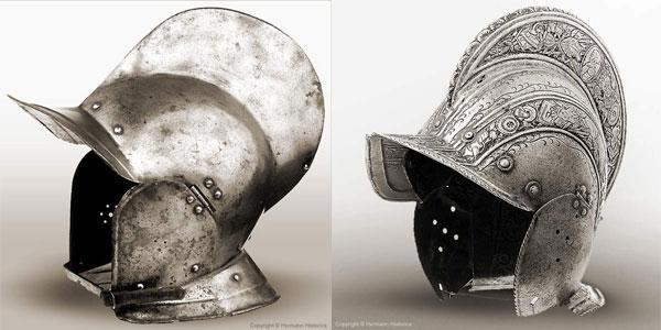шлем бургиньот - 23 -24