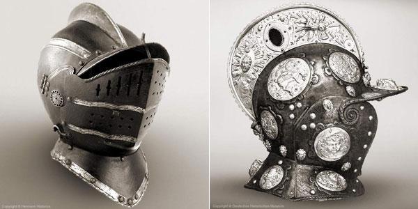 Шлем бургиньот - 25-26