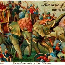 Боевые слоны (2): от Одиссея до Д`Артаньяна