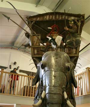 боевой слон - 009