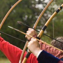 Как стреляли из лука в средние века?