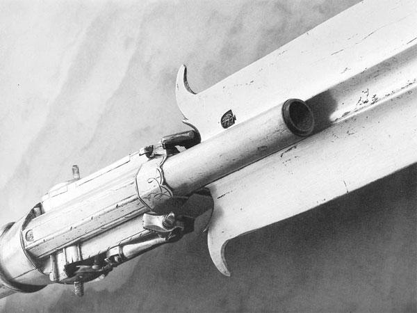 протазан с колесцовым пистолетом-46