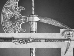 Комбинированное оружие (2): колесцовые пистолеты-топоры