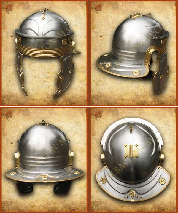 античные доспехи_шлем римского легионера