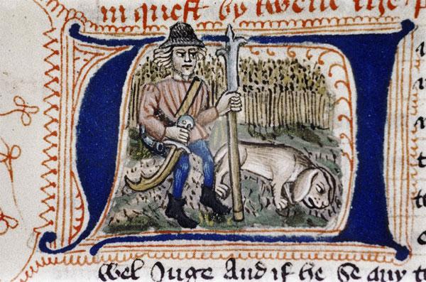 Билльмен с псом