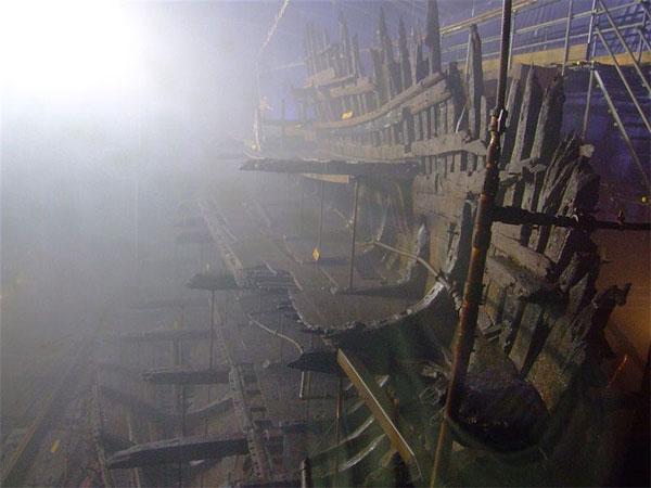 """Останки корабля """"Мэри Роуз"""""""