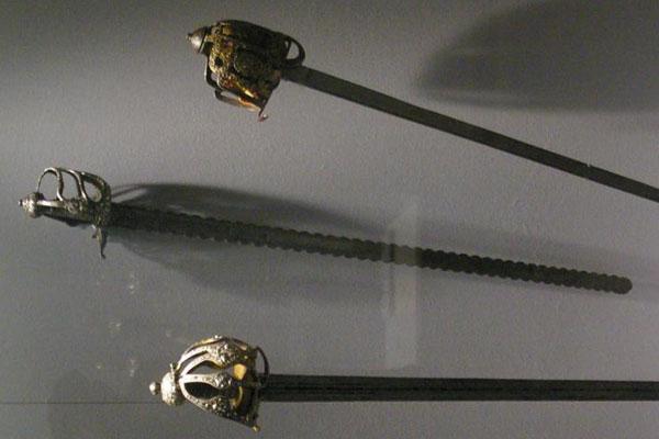 Пламенеющий корзинчатый меч 2