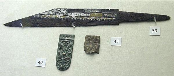 англосаксонский боевой нож сакс - 01