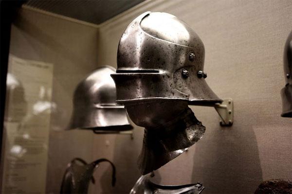 шлем с бивором