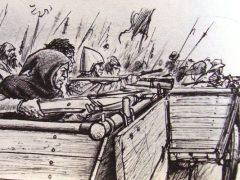 Вагенбург — крепость из телег и пушек