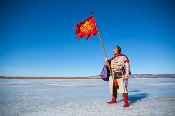 Князь Александр Невский в 1242 году на Чудском озере