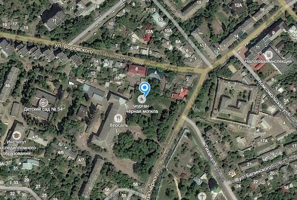 курган Черная могила в Чернигове