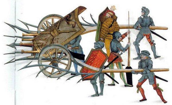 Средневековые пушки - рибодекин
