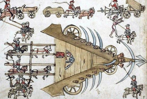 Средневековый гигантский рибодекин
