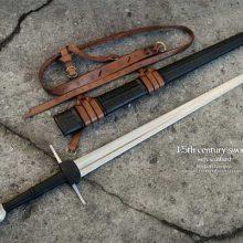 Длинный меч 15-го века от мастерской «Swordmaker»