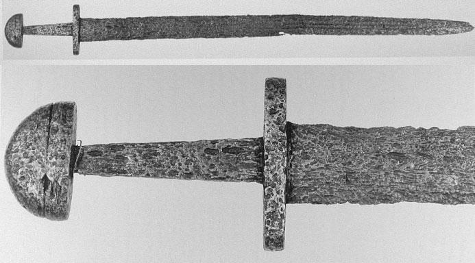 меч из Парижского музея тип X