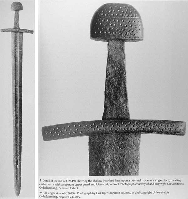 норвежский меч тип X по Петерсену