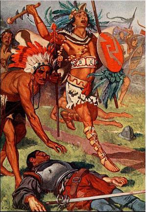 ночь печали испанских конкистадоров