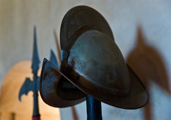 Морион - шлем конкистадоров