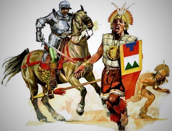 победа конкистадоров