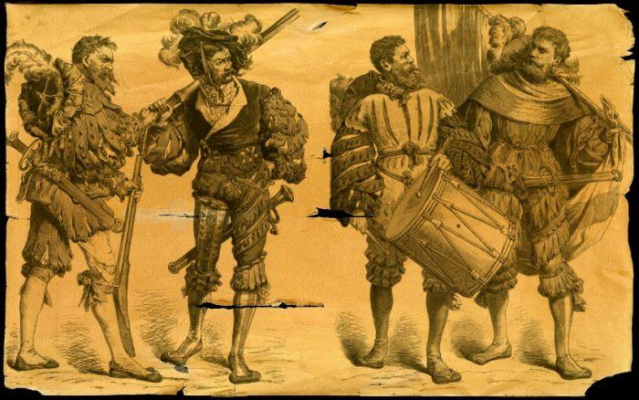 ландскнехты - немецкие наемники 16 века