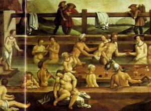 Бани и гигиена в Средние века